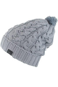 Cleptomanicx Wasa Beanie girls (mid grey)