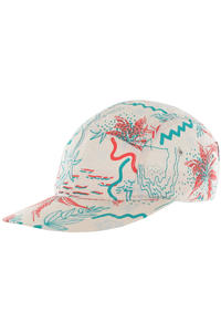 Cleptomanicx Spike Hawaii 5-Panel Cap (macadamia)
