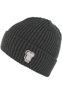 Cleptomanicx Hafen Toast Beanie (heather dark grey)