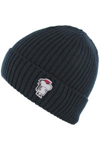 Cleptomanicx Punker Toast Beanie (navy)