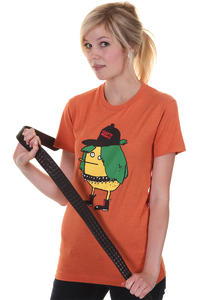 Cleptomanicx Punker Zitrone T-Shirt girls (heather orange)