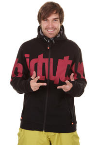 ThirtyTwo Reppin Snow Zip-Hoodie (black red)