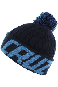 Santa Cruz XL Stripe Beanie (indigo blue)