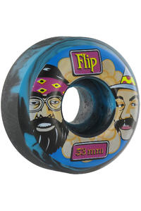 Flip Cheech & Chong Swirl 53mm Wheel 4er Pack  (blue)