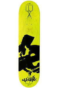 "Cliché Team Europe LUX 7.625"" Deck (yellow)"