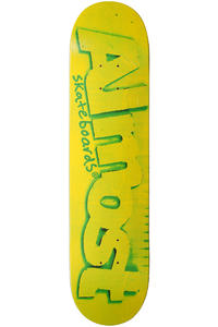 "Almost Cardboard Cuts R7 7.625"" Deck (green)"