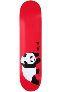 "Enjoi Original Panda R7 7.625"" Deck (red)"