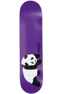 "Enjoi Original Panda R7 7.75"" Deck (purple)"