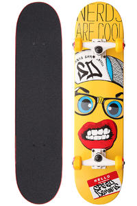 Speed Demons Nerds Are Cool 7.5&quot; Komplettboard (yellow)