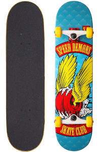Speed Demons Skate Club Dragster 7.625&quot; Komplettboard (red yellow)
