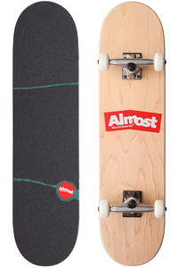 "Almost Flatboard 8"" Complete-Board (natural red)"