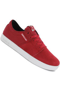 Supra Stacks Suede Shoe (red white)