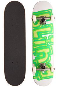 "Blind Slime 7.5"" Complete-Board (white green)"