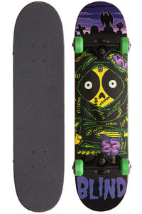 Blind Zombie Kenny 7.3&quot; Complete-Board kids (purple black)