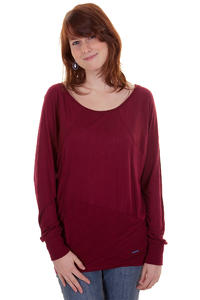 Ragwear Mady Longsleeve girls (burgundy)
