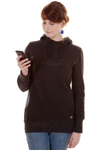 Ragwear Snap Hoodie girls (black jack)