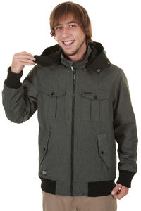 Ragwear Siberia Jacke (black melange)