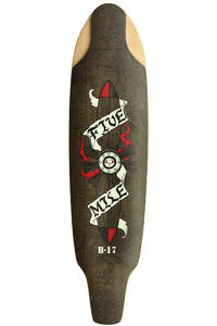 "Five Mile B-17 Fortress 37.5"" (95cm) Longboard Deck"