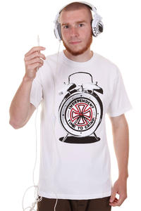 Independent Clock T-Shirt (white)