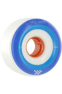 Volante Checker 68mm 82a Rollen (white blue)