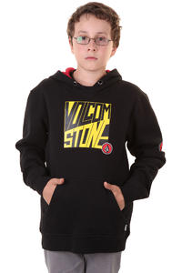 Volcom Fitted Peg Hoodie kids (black)