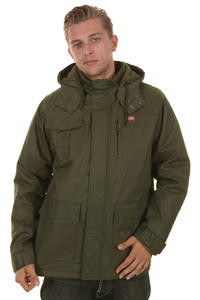 Dickies Nebraska Shield Parka Jacket (olive)