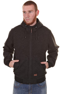Iriedaily Sober Knit Jacke (anthracite melange)