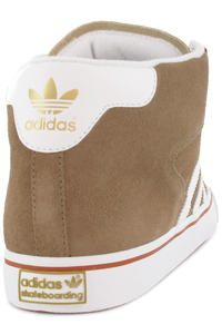 adidas Skateboarding Campus Vulc Mid Schuh (light twine white half brown)