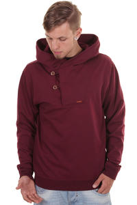 Iriedaily Ean Effort Hoodie (maroon melange)