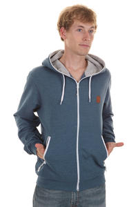Iriedaily Desire Fullzip Zip-Hoodie (navy melange)