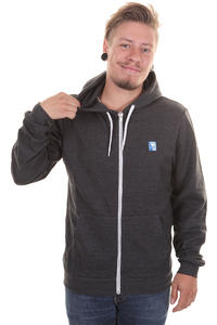 Iriedaily Desire Effect Zip-Hoodie (anthracite melange)