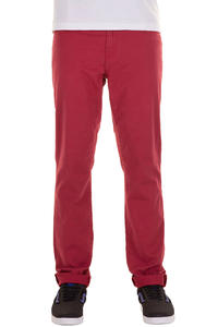Carhartt Riot Pant Wichita Hose (deep red light mill washed)