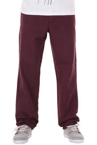 Carhartt Prime Pant Las Cruces Hose (wine mill washed)
