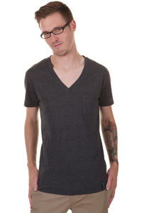 Iriedaily V-Pocket T-Shirt (anthracite melange)