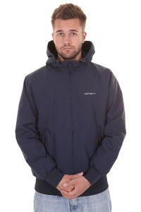 Carhartt Hooded Sail Jacke (blue broken white)
