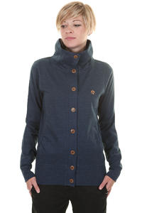Iriedaily Snugly Button Trainer Strickjacke girls (night sky)