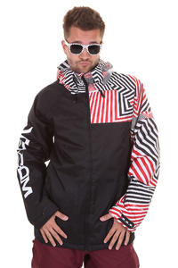Volcom Cross Stone Snowboard Jacke insulated  (volca stripes)