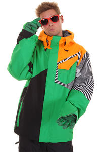 Volcom Versed Snowboard Jacke insulated  (poison)