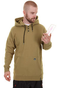 Volcom Capital Mod Fleece Snow Hoodie (walnut)