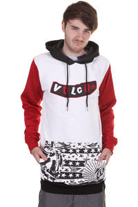 Volcom Blum G-Fit Fleece Snow Hoodie (white)