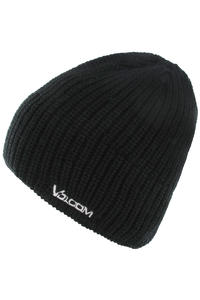 Volcom Solid Fleece Lined Beanie (black)