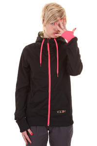 Volcom Pyrus Fleece Snow Zip-Hoody girls (black)