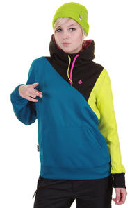 Volcom Avena Fleece Snow Hoodie girls (arctic blue)
