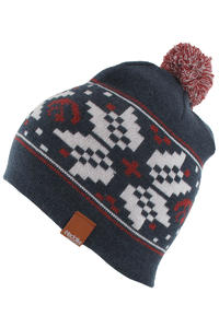 Iriedaily Nordmen Bobble Mtze (navy melange)