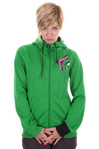 Volcom Jubaea Fleece Snow Zip-Hoodie girls (poison)
