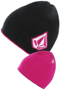 Volcom Dandy Beanie reversible  girls (black)