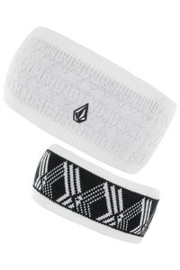 Volcom Prime Stirnband reversible  girls (white)