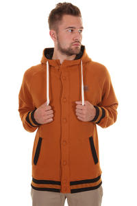 Trap Skateboards Button Jacke (sudan brown)