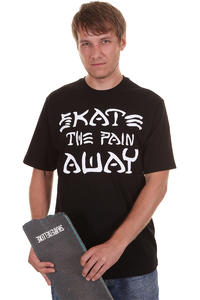 Trap Skateboards Pain Away T-Shirt (black)