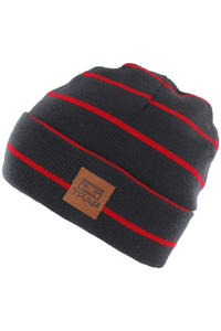 Trap Skateboards Square Beanie (navy tomato)